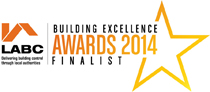 Finalist in the LABC Awards 2014