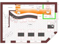 Buckingham Wine Bar Ground Floor Plan