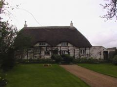 Thatched building extension, Nash, Buckinghamshire